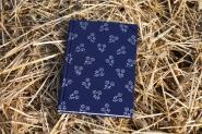 "Blaudruck ""Rosen"" - Notizbuch"