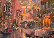 An Evening Sunset in Venice - 6000 Teile Puzzle