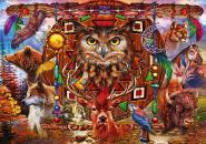 Animal Totem - 4000 Teile Puzzle