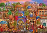 Arabian Street - 1000 Teile Puzzle