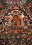 Buddha Amitabha in His Pure Land of Suvakti - 1500 Teile Puzzle
