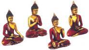 Buddha rot & gold