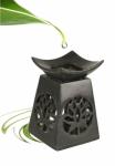 Duftlampe Lotus aus Speckstein
