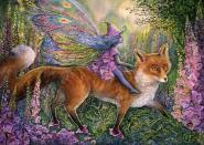 Foxglove Fairy - 1000 Teile Puzzle