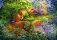 Moss Maiden - 2000 Teile Puzzle