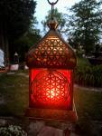 """Orientalisches Licht """"Blume des Lebens Gold"""""""
