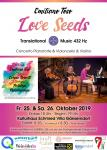 Konzert-Ticket - Love Seeds Okt. 2019