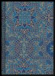 Mauresk blau - Notizbuch