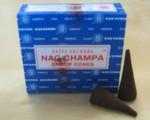 Sai Baba Nag Champa Räucherkegel