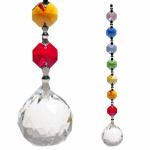 Oneness Chakra-Kette mit Kristallkugel