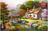 Rose Cottage - 3000 Teile Puzzle