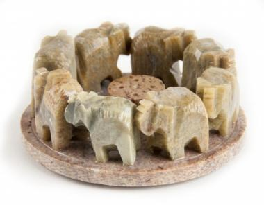 *Elefanten Räucherstäbchenhalter*
