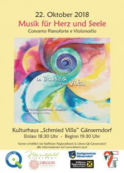 Konzert-Ticket - La Danza della Vita 22. Okt. 2018