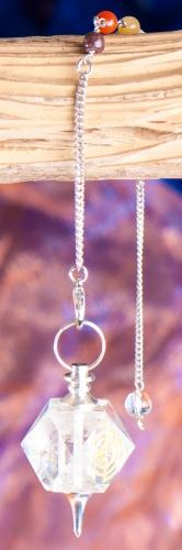 Chakrapendel Bergkristall