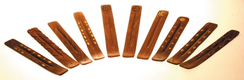 Holz Räucherstäbchenhalter